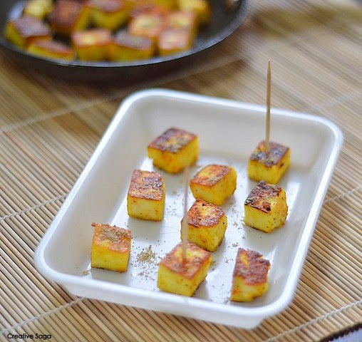 Instant roasted paneer snack recipes in 5 minutes paneer notes forumfinder Images