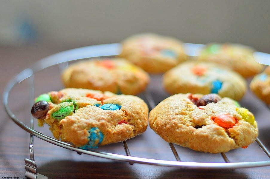 Easy And Healthy M Cookies Recipe Baking For Kids
