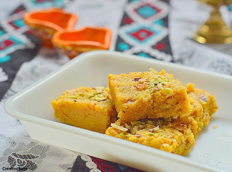 Besan burfi instant mohanthal recipe easy diwali sweet recipes besan burfi instant mohanthal recipe easy diwali sweet recipes creativesaga forumfinder Image collections