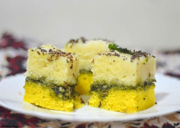 Sandwich dhokla recipe easy and quick snack recipes creativesaga course snack forumfinder Images