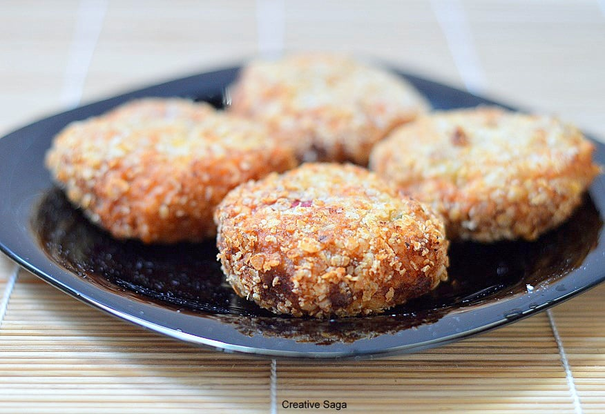 Vegetable brown rice patty – easy wholemeal ideas