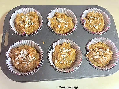 chia seeds muffin